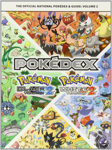 Pokemon BlacK & White 2 Volume 2 The Official National Pokedex & Guide front