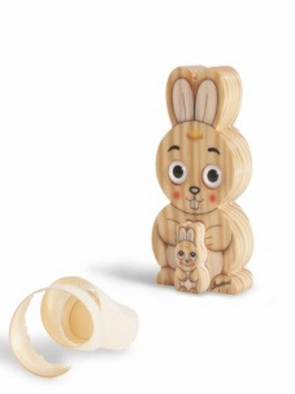 ANIMALS 3D EYES SOLID WOOD  RABBIT