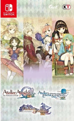 Atelier Dusk Trilogy Deluxe Pack (Multi-Language) NSW front cover