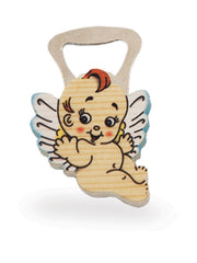 BOTTLE OPENERS Blue Flying Angel