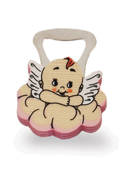BOTTLE OPENERS  PINK CLOUD ANGEL