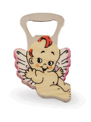 BOTTLE OPENERS  PINK FLYING ANGEL