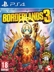 Borderlands 3 P4 front cover