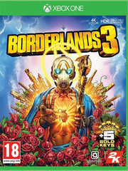 Borderlands 3 XB1 front cover