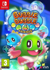 Bubble Bobble 4 Friends (Standard Edition) NSW front page