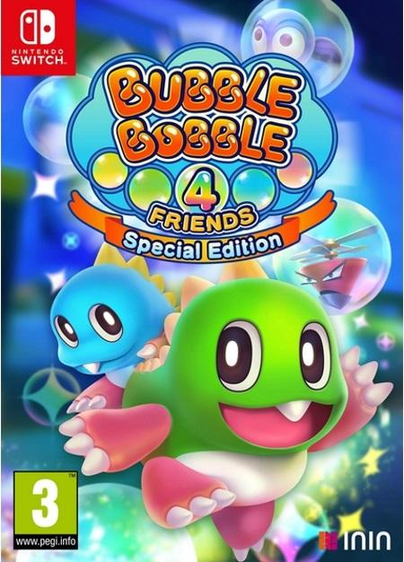 Bubble Bobble 4 Friends Special Edition NSW front page