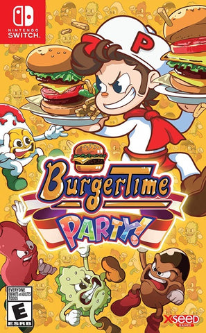 Burgertime Party! - Nintendo Switch  NSW front page