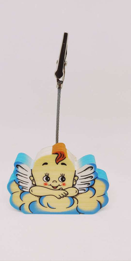 Bartolucci CLIP PICTURE HOLDER BLUE CLOUD ANGEL