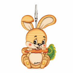 Bartolucci Clip Picture Holder Carrot Rabbit