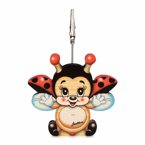 Bartolucci Clip Picture Holder Flying Ladybird