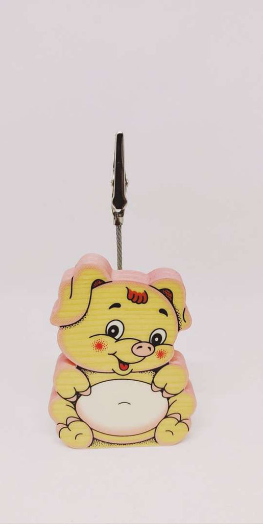 Bartolucci CLIP PICTURE HOLDER PIG