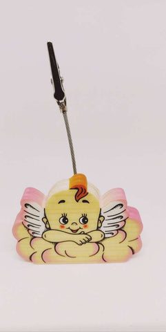 Bartolucci CLIP PICTURE HOLDER PINK CLOUD ANGEL