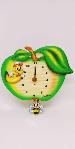 Bartolucci CLOCK MED W. Pend. APPLE