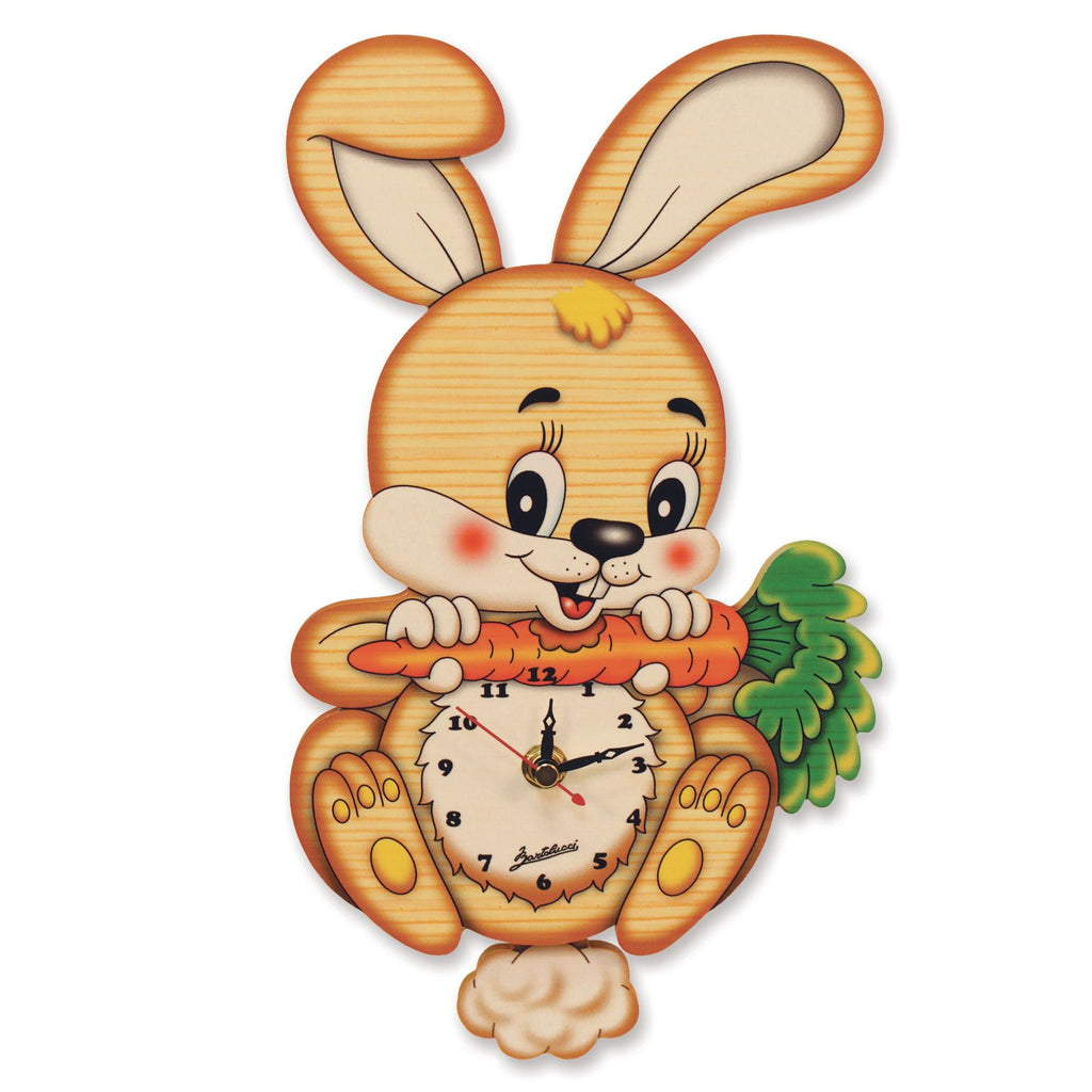 Bartolucci CLOCK SML RABBIT