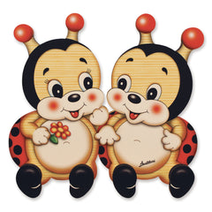 Bartolucci Clothes hanger Ladybirds