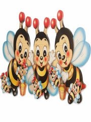 Bartolucci Clothes hanger three Bees