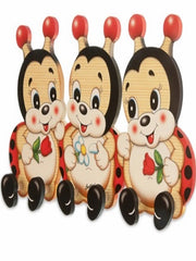 Bartolucci Clothes hanger three Ladybirds