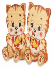 Bartolucci Clothes hanger Cats