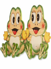 Bartolucci Clothes hanger Frogs