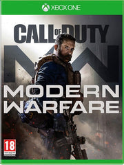 Call of Duty: Modern Warfare XB1 front cover