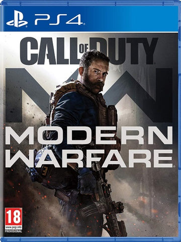Call of Duty: Modern Warfare PS4 front cover