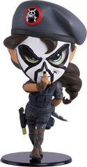 Caveira Chibi Rainbow Six Collection Vinyl Figure