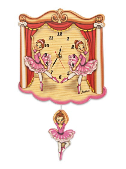 Bartolucci Clock Std  Dancers
