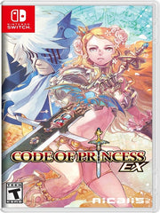 Code of Princess EX Nintendo Switch front cover