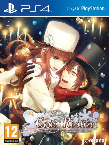 Code: Realize Wintertide Miracles P4 front cover