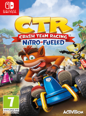Crash Team Racing - Nitro Fueled NSW front cover