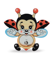 Bartolucci Dishclothes Holder Flying Ladybird