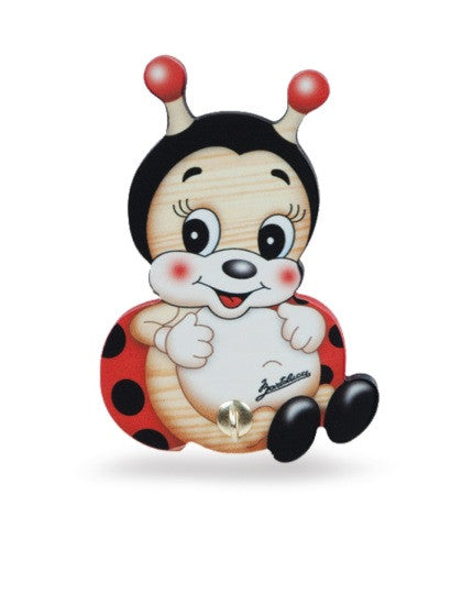 Bartolucci Dishclothes Holder Ladybird
