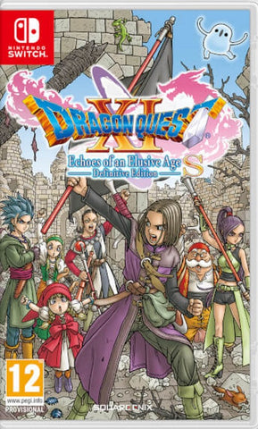 DRAGON QUEST XI S Echoes of an Elusive Age NSW front cover