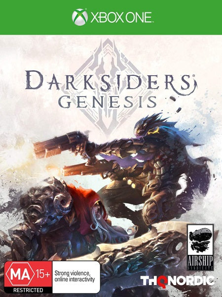 Darksiders Genesis XB1 front cover