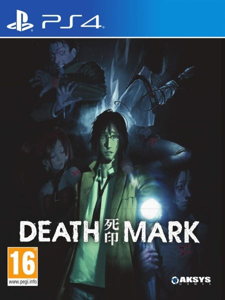 Death Mark Eu Uk version P4 front cover