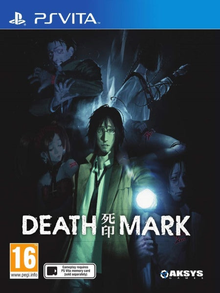 Death Mark Eu Uk version PSV front cover