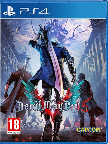 Devil May Cry 5 P4 front cover