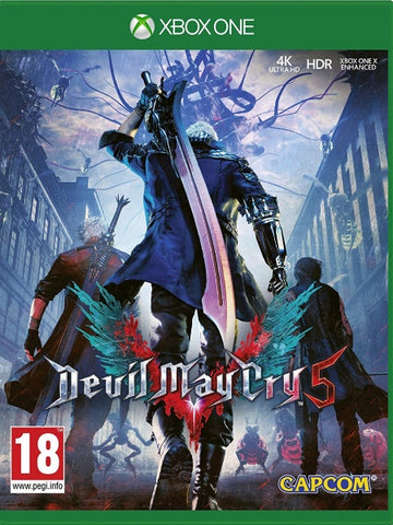 Devil May Cry 5 XB1 front cover