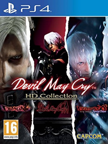 Devil May Cry HD Collection P4 Front Cover