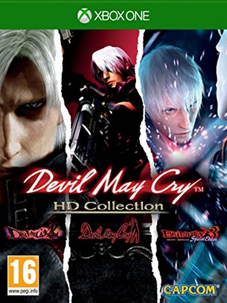 Devil May Cry HD Collection X1 Front Cover