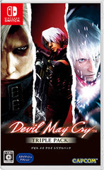 Devil May Cry Triple Pack [Multi-Language] NSW front cover