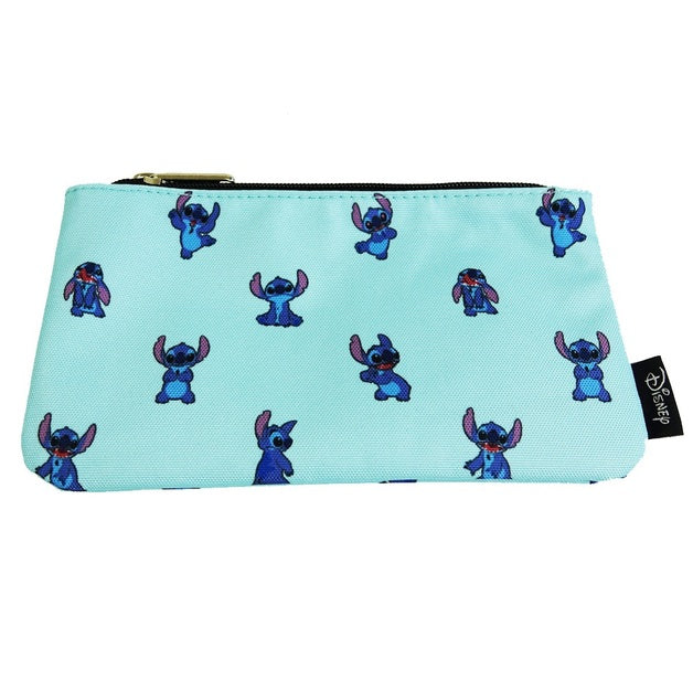 Disney Stitch AOP Cosmetic Bag by Lounglefly