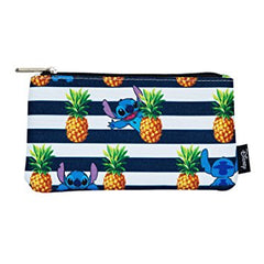 Disney Stitch Pineapple Cosmetic Bag by Lounglefly