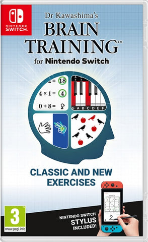 Dr Kawashima's Brain Training NSW front cover