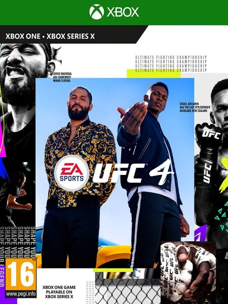 EA Sports UFC 4 X1 front cover