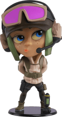 Ela Chibi Rainbow Six Collection Vinyl Figure