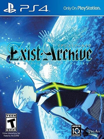 Exist Archive Other Side of Sky Usa Version P4 front page