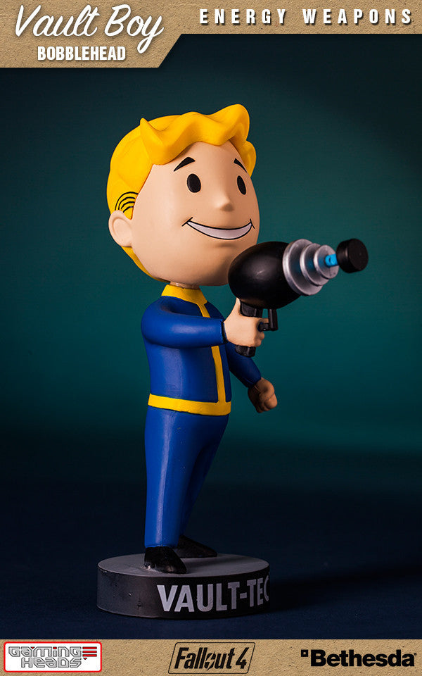Fallout Vault Boy Bobble Series 1 Energy Weapons