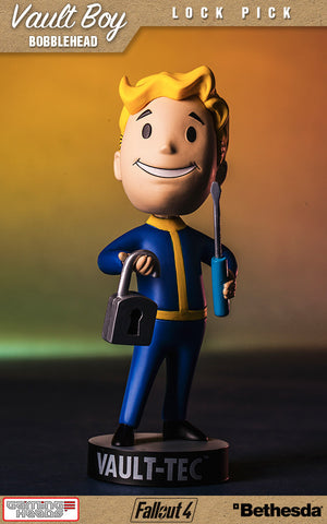 Fallout Vault Boy Bobble Head Series 1 Lock Pick