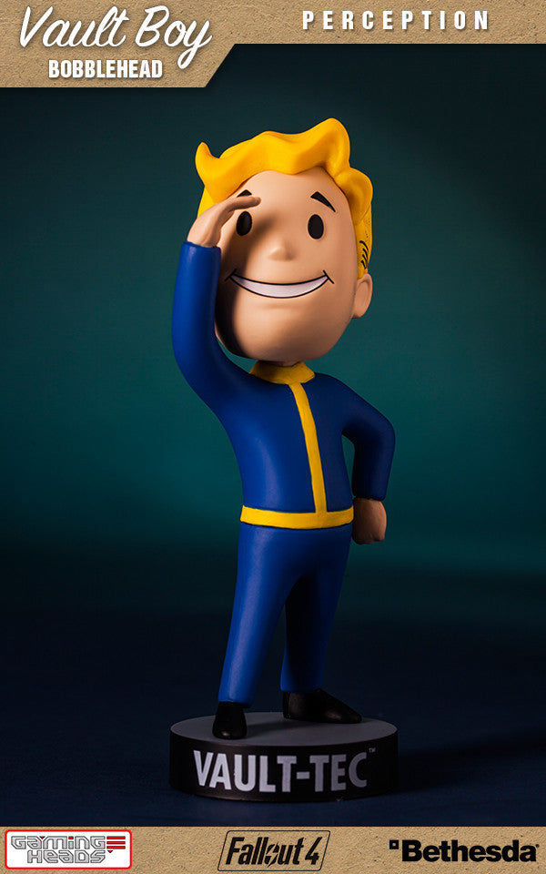 Fallout Vault Boy Bobble Head Series 1 Perception